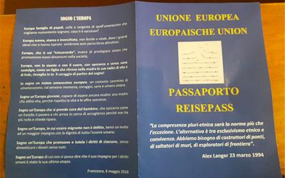 Passaporto-Ponti e Non Muri-pax christi-missio toscana