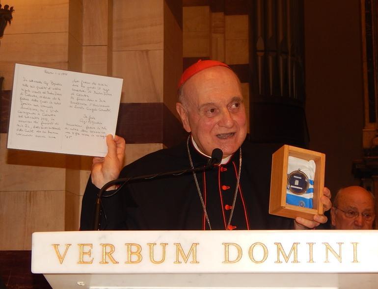 Il Card. Comastri apre con Madre Teresa la settimana della Bellezza