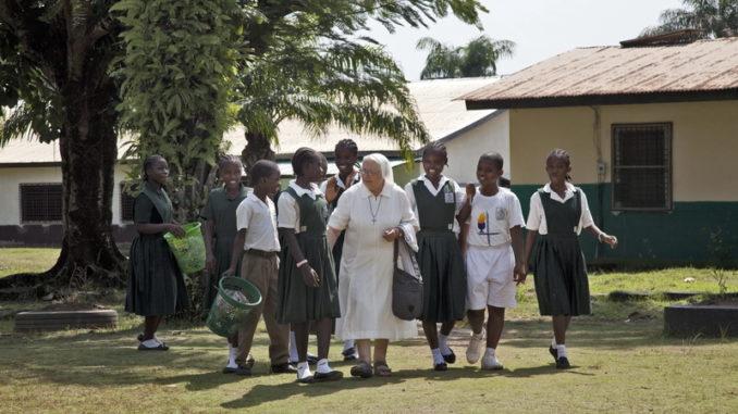 Liberia: Angeli contro il virus