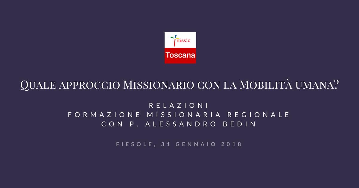 Quale Approccio Missionario con la Mobilità Umana?