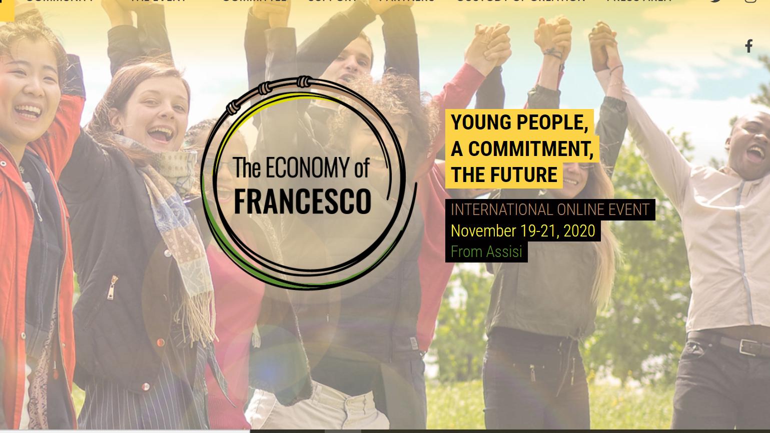 The Economy of francesco – dal 19 al 21 novembre in streaming