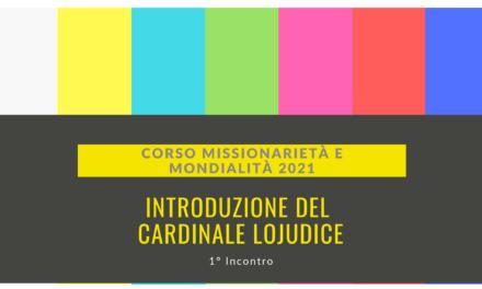 Video introduzione 1 incontro di Formazione Missionaria